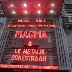 Concert: Magma & Le Metalik Orkestraah, Olympia Parijs