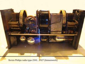 Binnenwerk Philips radio no. 2501 - 1927
